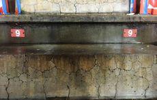 Zerbröselnder Beton