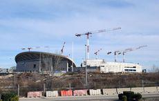 Das neue Stadion in der Pampa – eine Baustelle