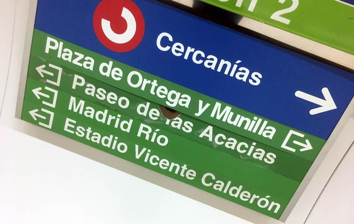 Aussteigen zum Calderón.
