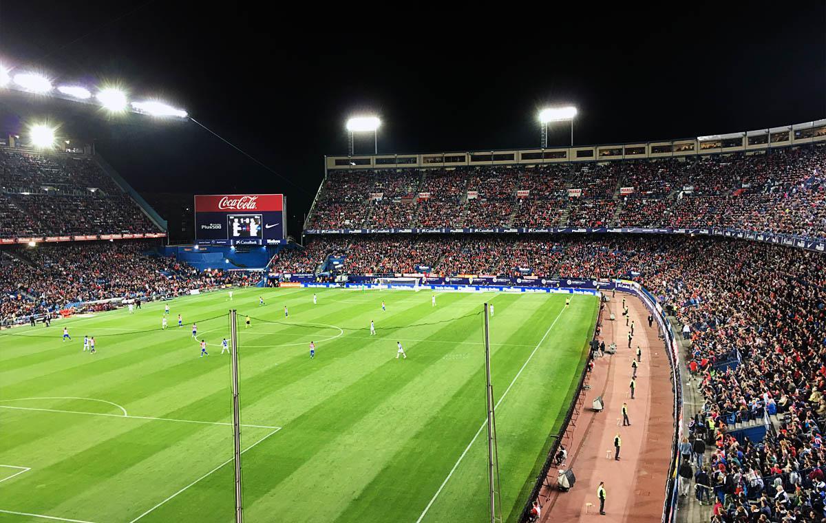 Atlético de Madrid vs Real Sociedad de Fútbol 1:0