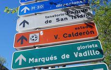 Richtung Calderón…