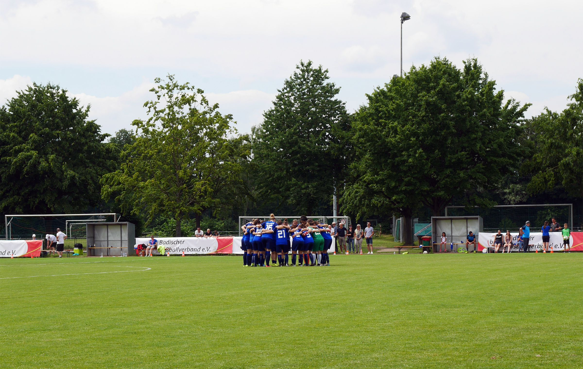 The Huddle beim KSC…