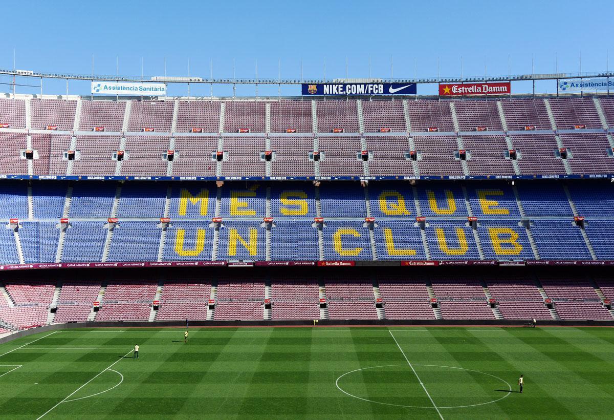 Bild: Stadion von oben