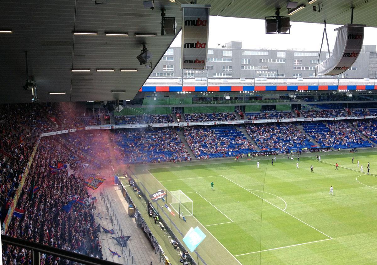 FC Basel spielt gegen den FC Vaduz
