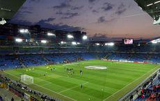 FC Basel vs FC Sevilla 0:0 – Sonnenuntergang vor dem Spiel