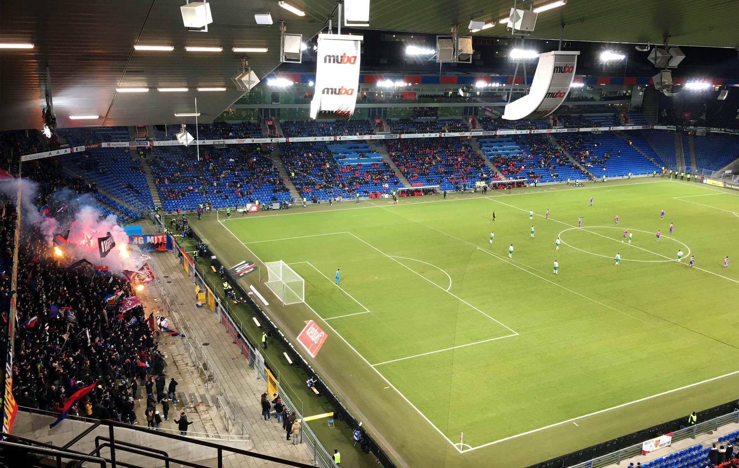 FC Basel vs FC St. Gallen 3:0