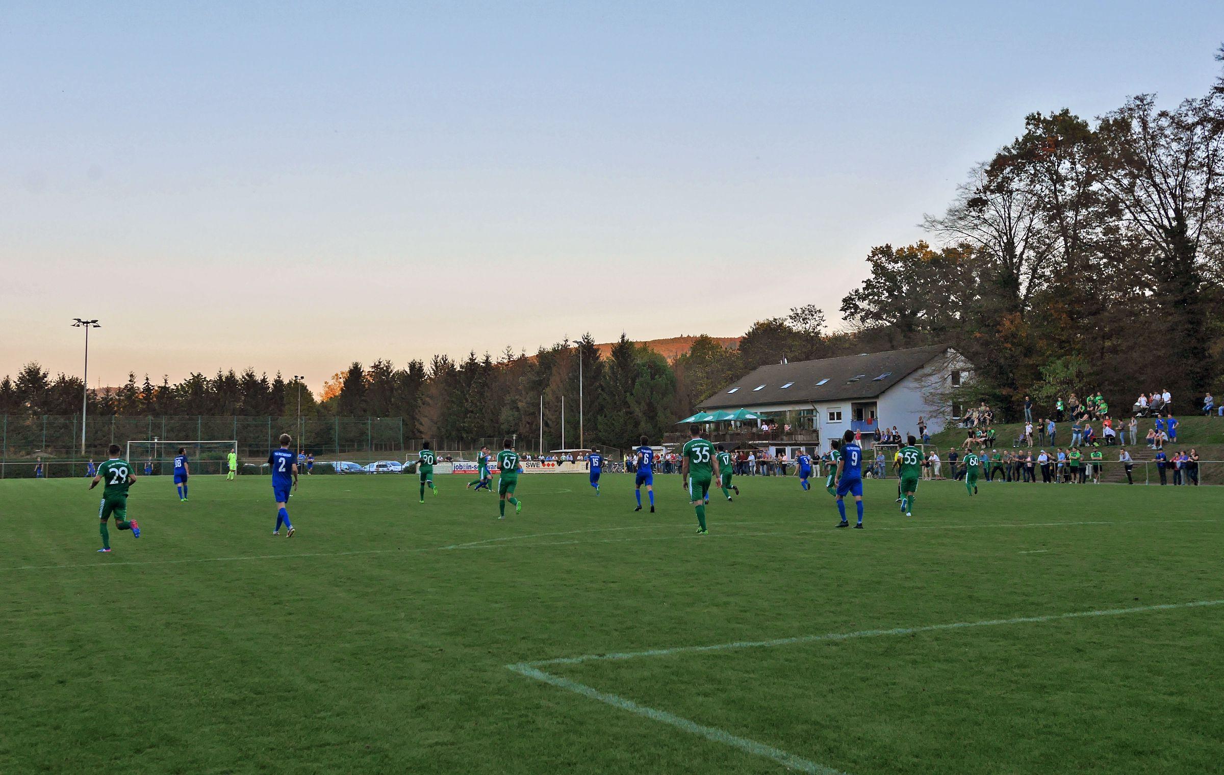 FV Alemannia Bruchhausen vs TSV Schöllbronn 0:1