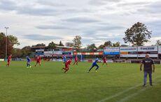 Astorias Trainer Andreas Kocher dirigierte sein Team lautstark zum Auswärtssieg…