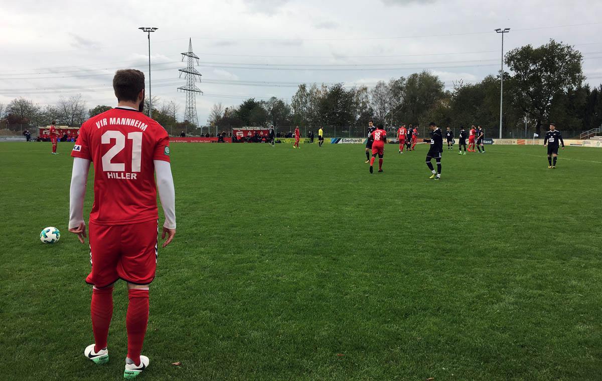 1. FC Bruchsal vs VfR Mannheim 1:1
