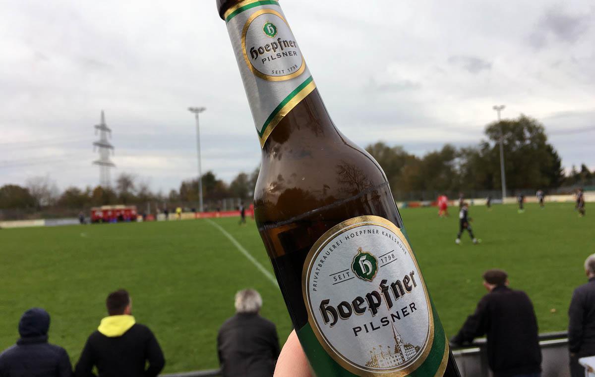 Gutes Karlsruher Stadionbier!