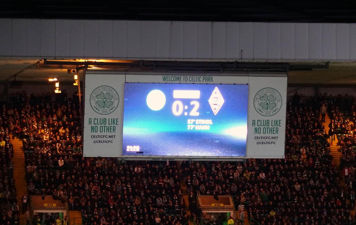 Celtic vs Gladbach 0:2