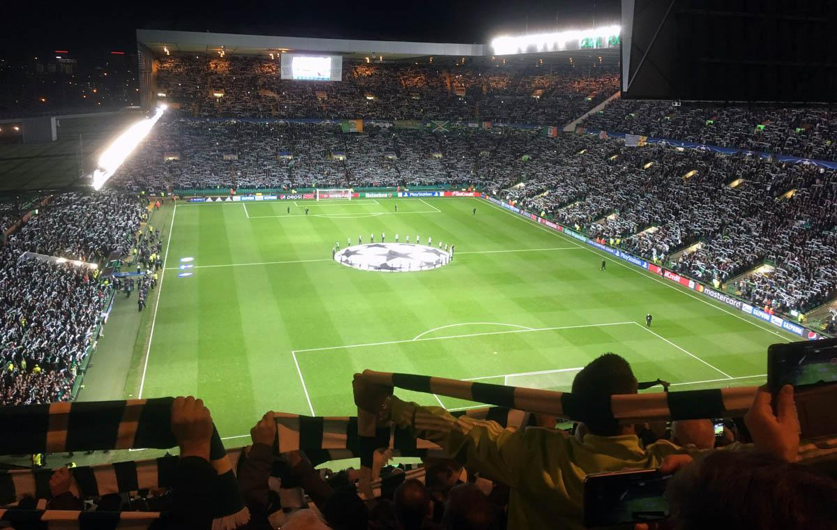 Celtic vs Gladbach, YNWA