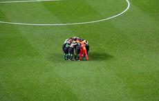 The Huddle bei Borussia.