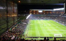 Celtic vs Gladbach, Anpfiff zur zweiten Halbzeit
