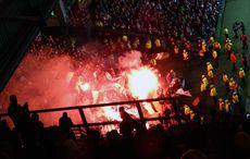 Borussia hatte was zum Leuchten dabei…