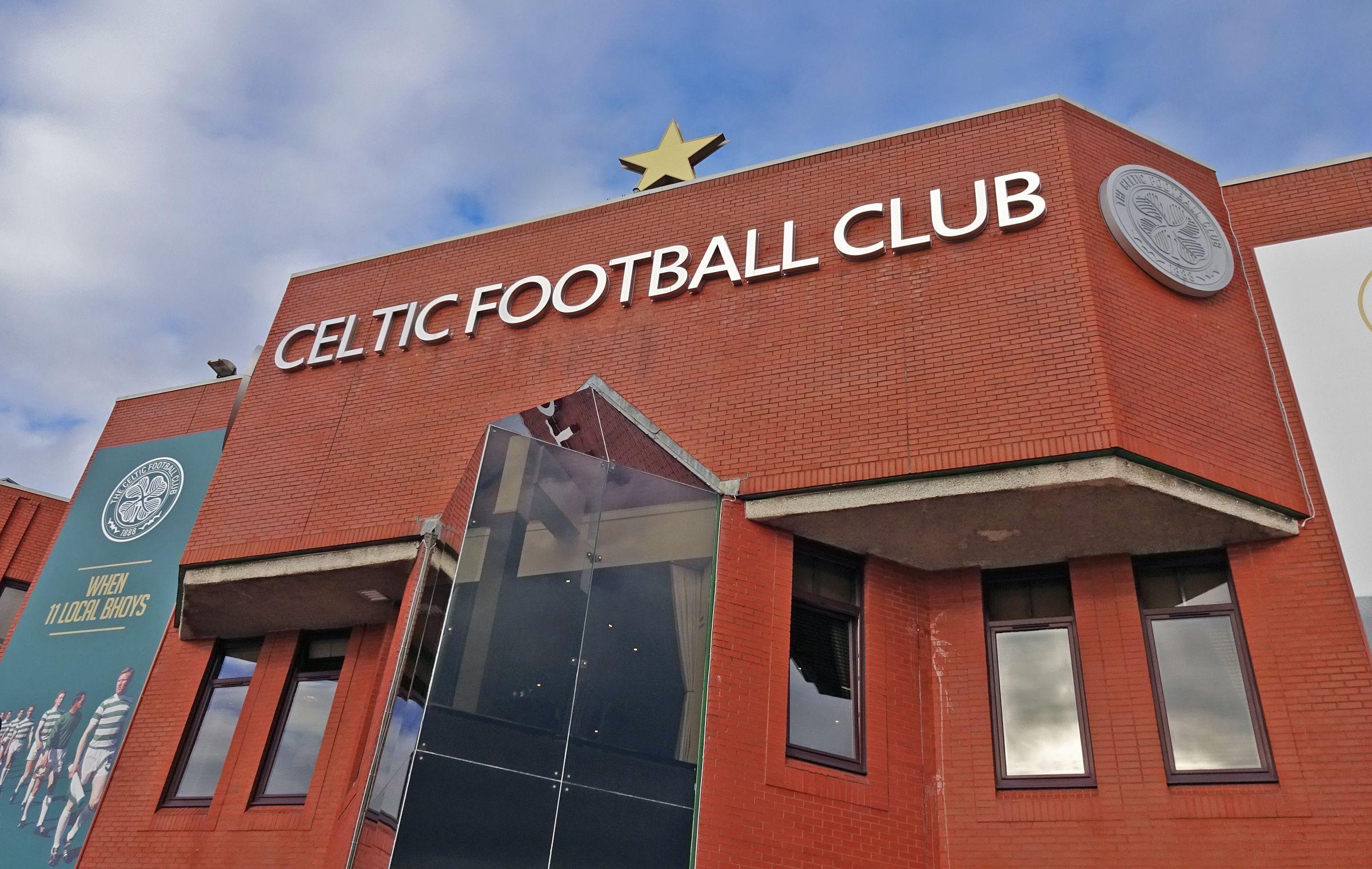 Eingang des Celtic Park im Oktober 2016