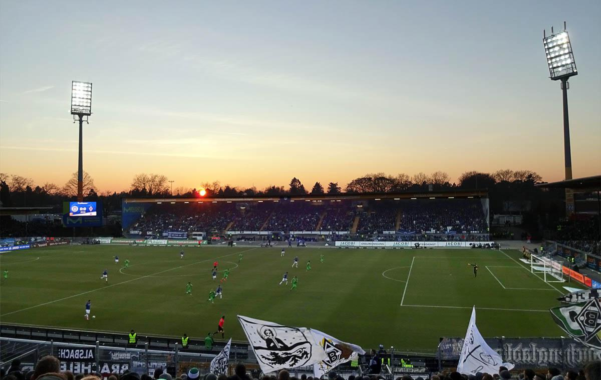 Darmstadt 98 vs Borussia 0:0