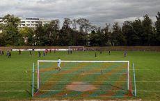 Blick über den Sportplatz