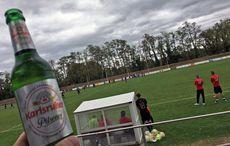 Punktabzug für die falsche Karlsruher Biersorte…