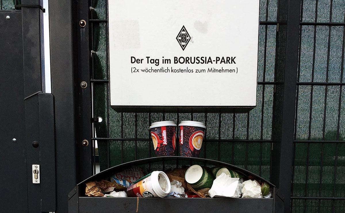 Der Tag im Borussia-Park…