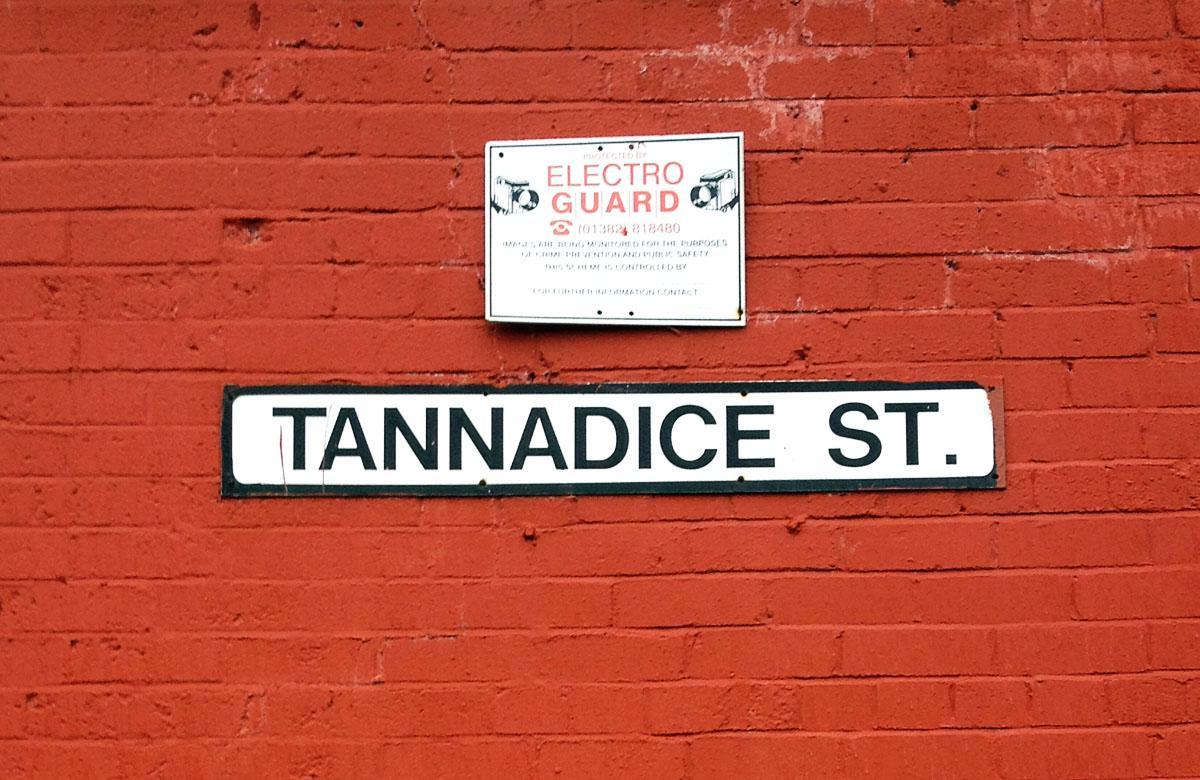 Dundee, Tannadice Street, Heimat von Dundee United
