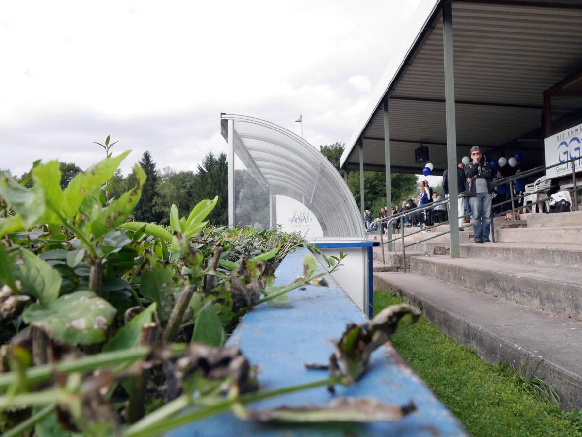 Bild: Idylle im Turmberg-Stadion