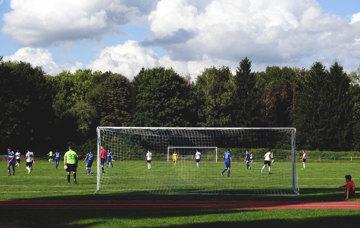 ASV Durlach vs Germania Friedrichstal 2:2