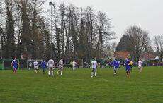Erstes Match am Jagdgrund 2019 mit ca. 60 Zusehenden…
