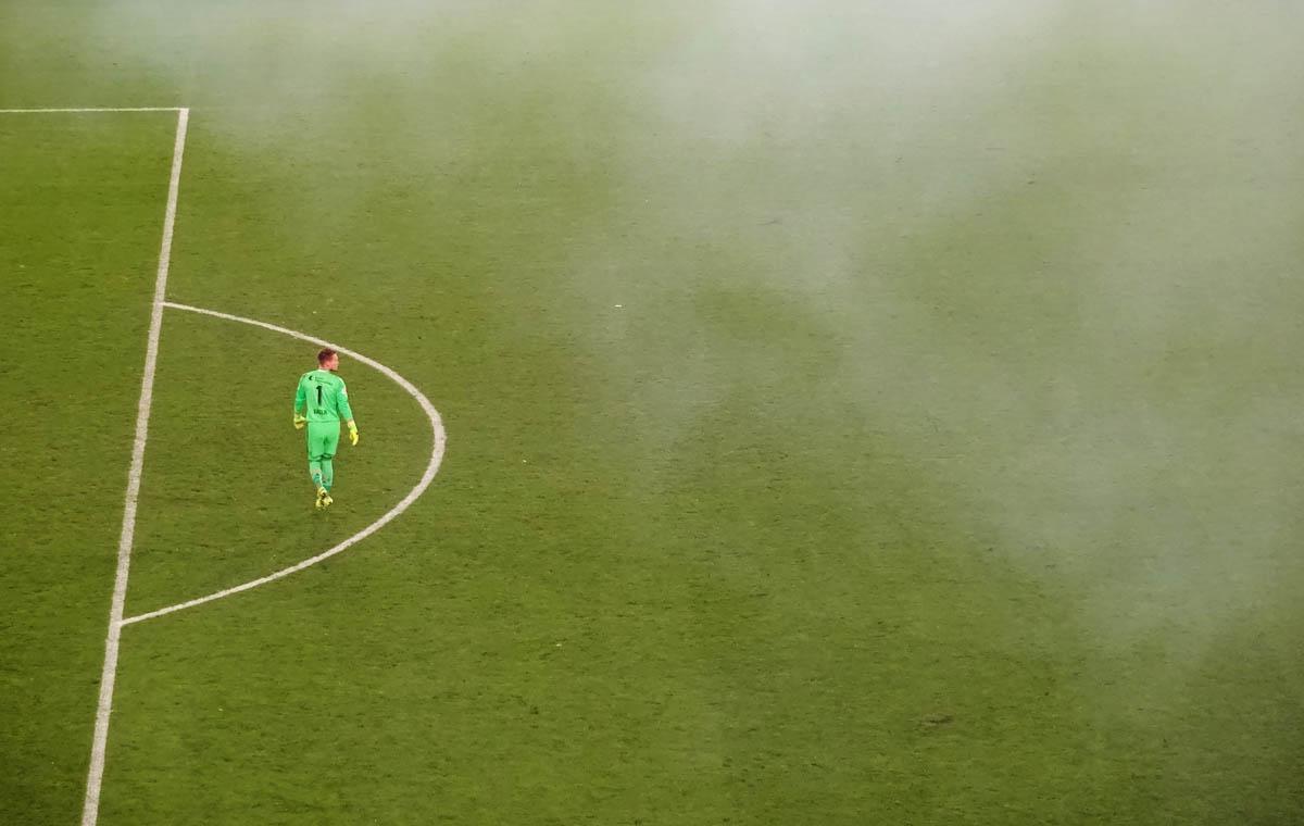 Torwart im Nebel…