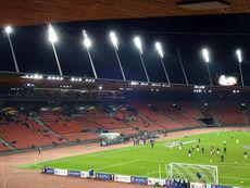 FC Zürich vs Villarreal CF – Die spärlich gefüllte Haupttribüne