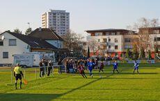 Guter Besuch beim Kreisligamatch am Samstagsnachmittag…