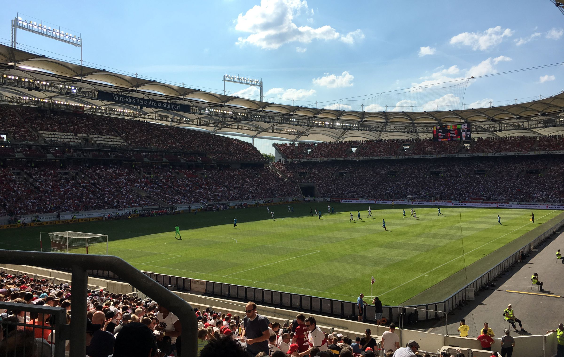 VfB Stuttgart vs Atlético de Madrid 1:1