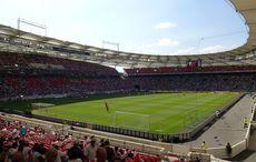 Glühende Hitze über Stuttgarts Stadion…
