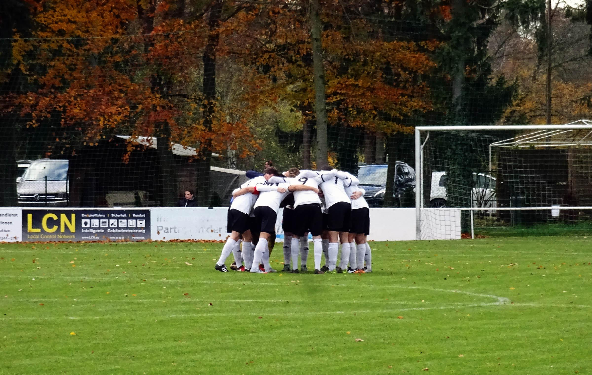 The Huddle bei den Germanen…