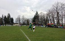 Kirchfelds Defensive klärte rigoros die Bälle…