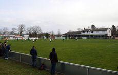 Blick über das Spielfeld…