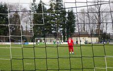 Blick durch das Netz. Kirchfelds Keeper Kristijan Petric hielt seinen Kasten sauber…