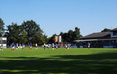 Sommer auf dem Sportplatz…