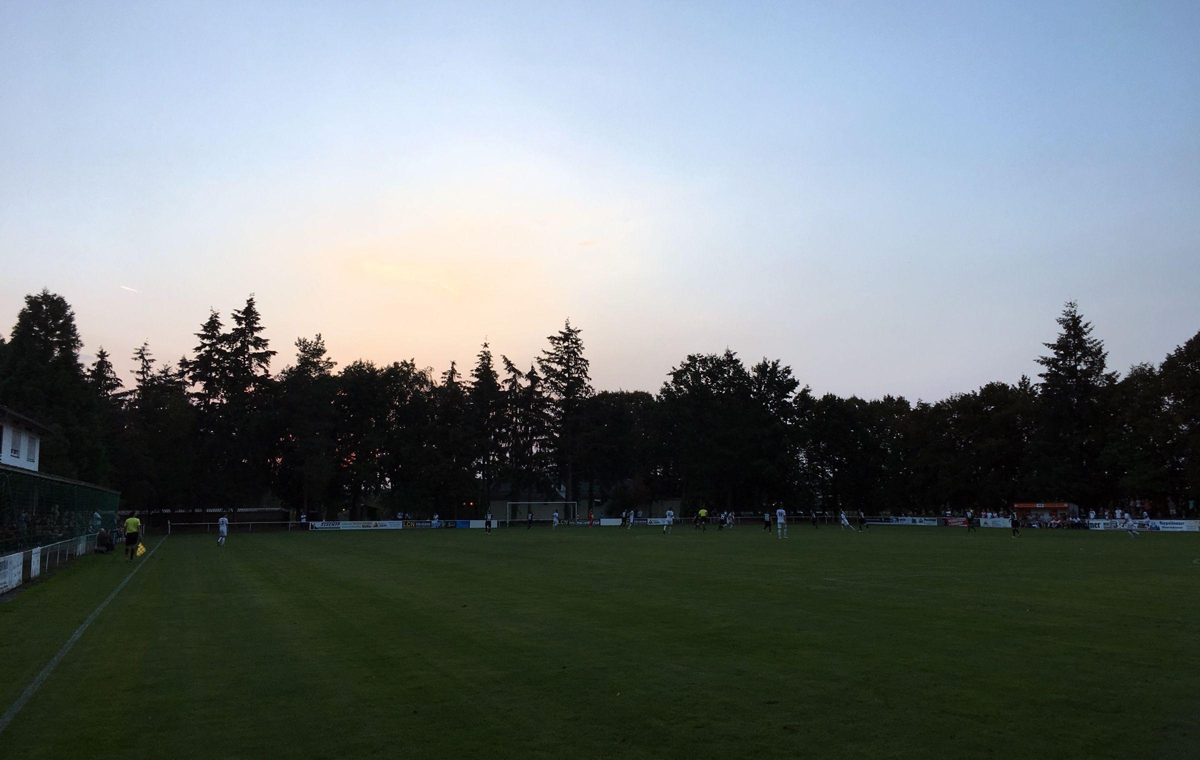 Sonnenuntergang über Friedrichstal…