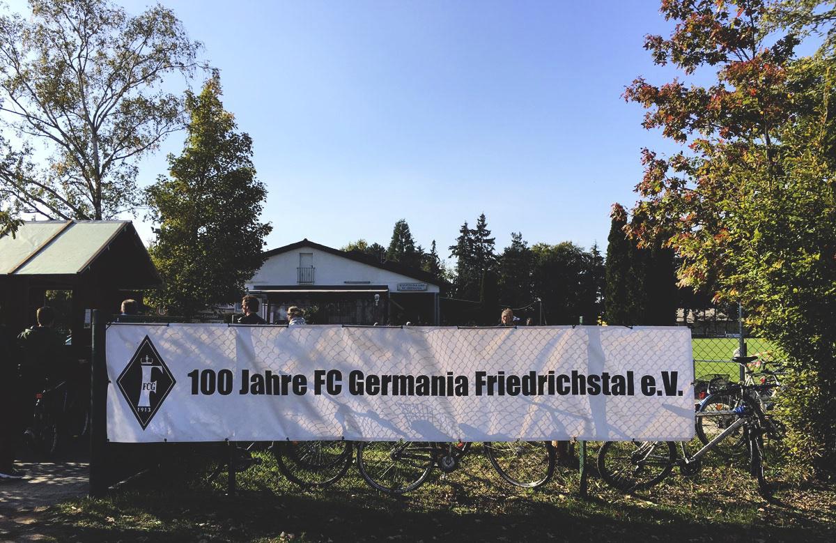 Bild: 100 Jahre Germania Friedrichstal