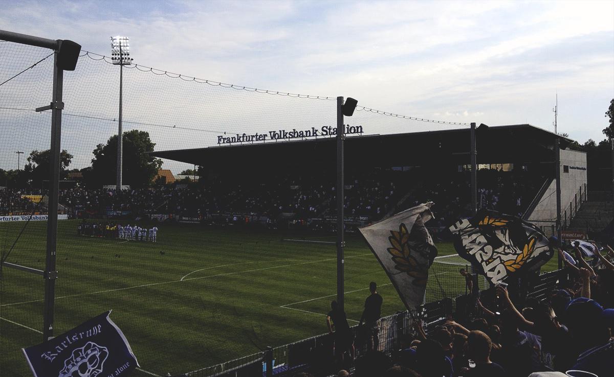 Bild: FSV Frankfurt vs KSC 14.8.15, Volksbank Stadion