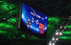 Halbzeit: Borussia vs Barça 1:0