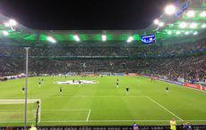 Borussia-Park im CL-Chic