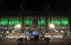 Der Borussia_Park nach dem Spiel