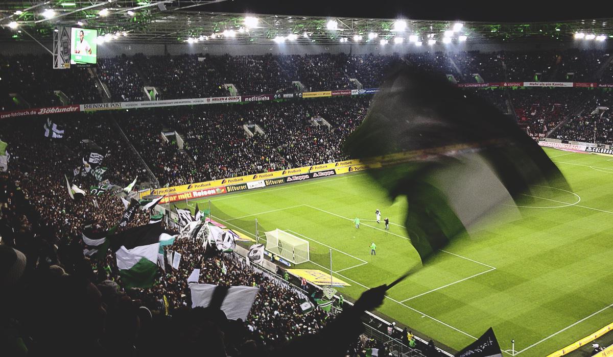 Bild: Borussia-Fahne