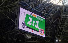 Gladbach vs Leverkusen 2:1.