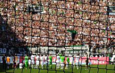 Gladbach vs Leverkusen, nach getaner Arbeit.