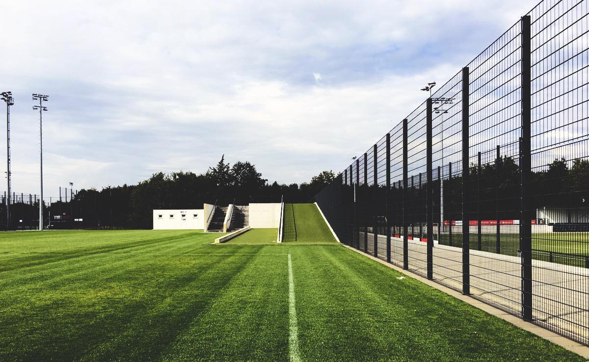 Bild: Übungs-Hügel im Borussia-Park