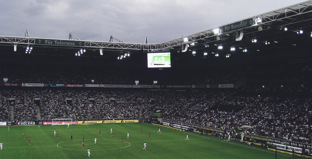 Bild: Gladbach vs. Mainz 1:2, Blick ins Stadion