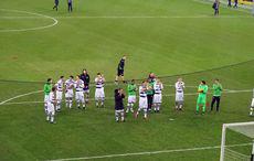 Applaus nach dem Spiel…